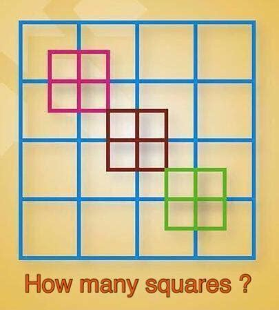 how many square in a square how many squares in this box brainly in