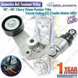 Serpentine Belt Tensioner Pulley Toyota Corolla Celica Mr2