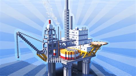 How To Build An Oil Platform In Minecraft (creative