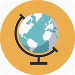 Icon Geography Education Learning Globe Map Equipment