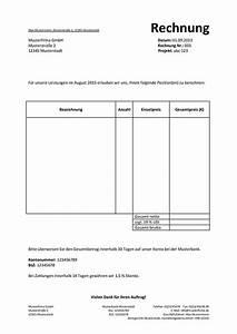 Angaben Auf Rechnung : pflichtangaben auf einer rechnung ~ Themetempest.com Abrechnung