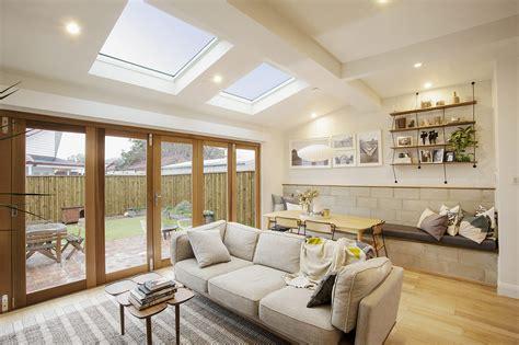 Interior Design For Living Room Roof by Velux Atlite Skylights