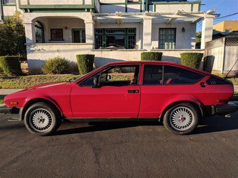 Amazing Red Vintage Alfa Romeo Gtv6 1981