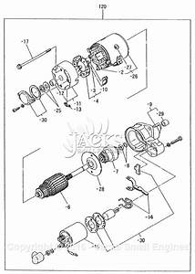 Robin  Subaru Dy41 Parts Diagram For Starter Motor