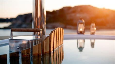 Skargards Tub by Skargards Terrass Schwedische Outdoor Badewanne F 252 R Den