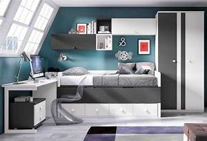 chambre fille ado moderne sur idee deco collection et With chambre moderne ado fille