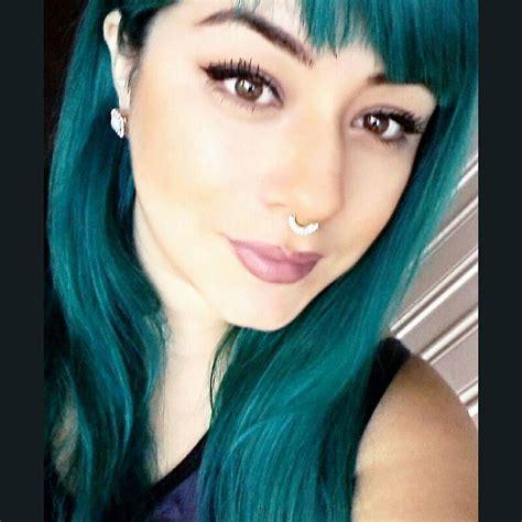 tonos de cabello verde oscuro  curso de organizacion