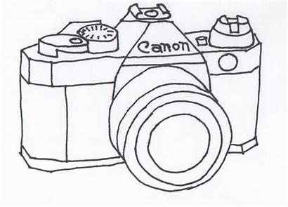 Camera Drawing Embroidery Canon Tattoo Cameras Creativity