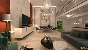 Modern, Luxurious, Home, Interior, Design