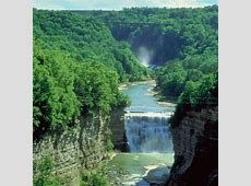 Hiking Trails in Letchworth State Park, New York Getaway USA