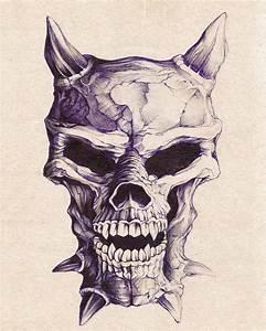 Skull demon by d-a-y-s-l-e-e-p-e-r on DeviantArt