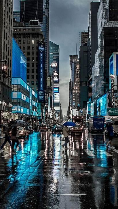 Iphone 4k York Street Wallpapers Dark Blur