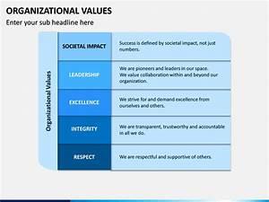 Organizational Values Powerpoint Template Sketchbubble