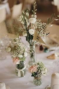 deco fleur table mariage fashion designs With chambre bébé design avec fleuriste mariage