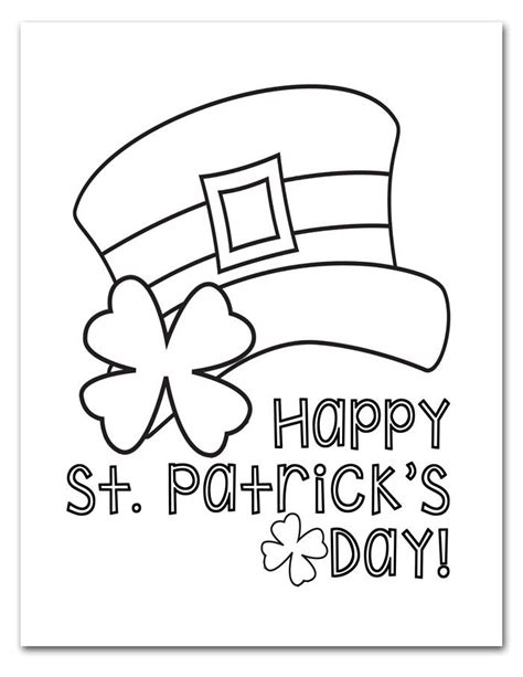 Through this coloring page you're able to check whether your kid is acquainted with the fundamental colours. Free Printable St. Patrick's Day Coloring Pages | St ...