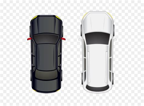 Car Automobile Roof  Top View,plan View Png Download