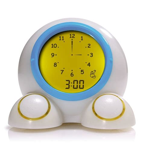 alarm clock light mirari teach me time talking alarm clock light ebay