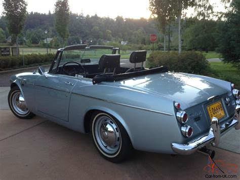 1967 Datsun Roadster by 1967 1 2 Datsun Roadster Solex 2000 Fairlady