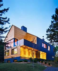 MU architecture finishes dual skinned malbaie VIII residence