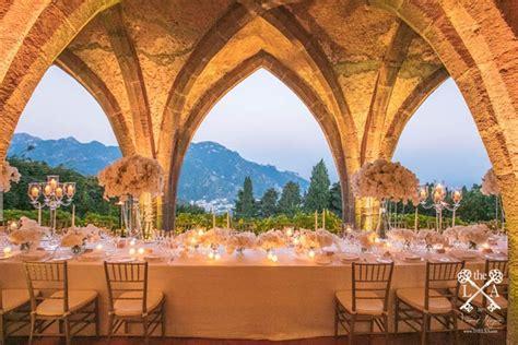 a romantic iranian american wedding in ravello