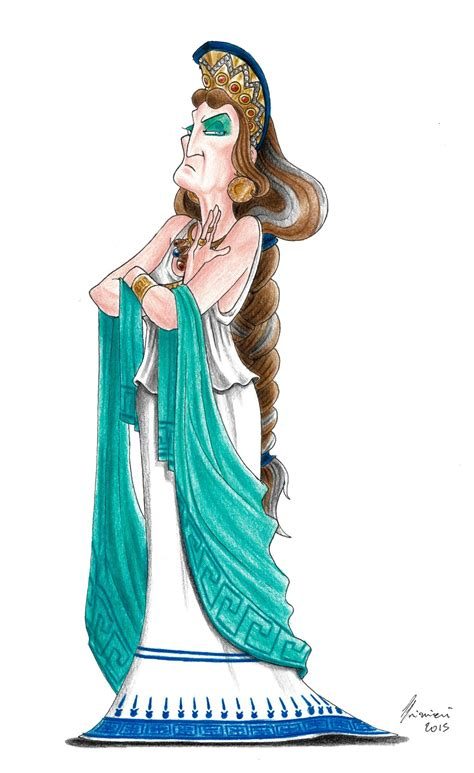 hera gods of olympus by lorenzolivrieri on deviantart