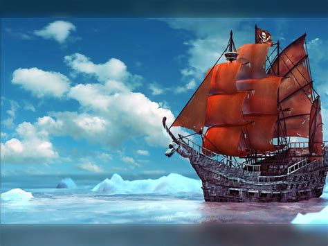 Barco Pirata Hd by Barcos Piratas Fondos Hd Alegorias Es