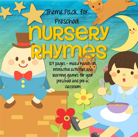 nursery rhymes pack for preschool pre k 127 pgs 786 | s502260936815463319 p126 i7 w867