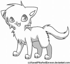 Chibi Cat Template by KawaiiPikaAndEeveon on DeviantArt
