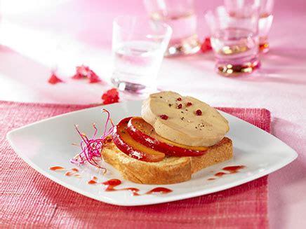 canap駸 au foie gras entrées foie gras