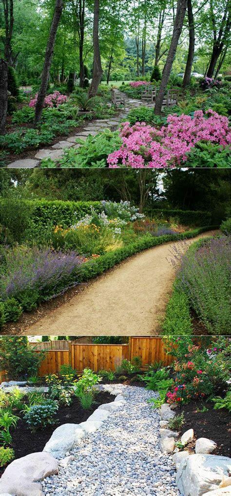 Backyard Path by 25 Most Beautiful Diy Garden Path Ideas A Of Rainbow