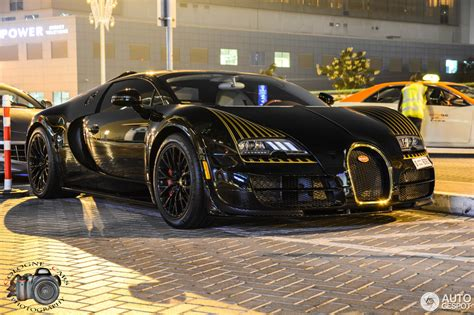 The super sport was introduced in 2010 as for braking, the bugatti veyron grand sport vitesse can decelerate from 100 km/h to a stop in just 31.4 metres along with an exceptional time of. Bugatti Veyron 16.4 Grand Sport Vitesse Black Bess - 2 January 2015 - Autogespot