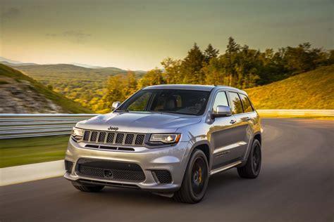 2018 jeep grand cherokee hellcat 2018 jeep grand cherokee trackhawk first drive the most