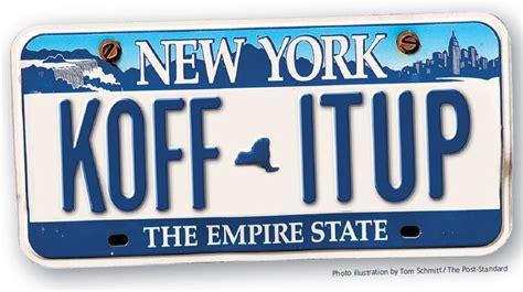 nys vanity plates unshackle upstate memo opposing license plate fee