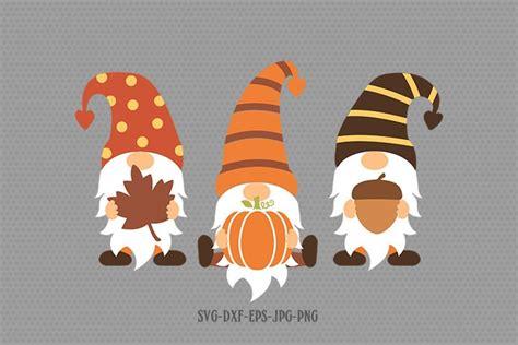 fall gnomes svg gnomes svg gnome svg pumpkin svg  cut files design bundles