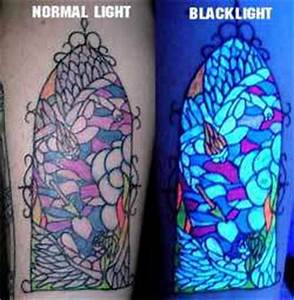 Blacklight Reactive Body Art UPDATE Glow in the Dark