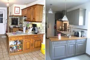 relooker ma cuisine en chene resolu With superb peindre des poutres en bois 14 renover une maison ancienne
