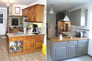 relooker ma cuisine en chene resolu With wonderful toute les couleurs de peinture 15 renovation peintures de renovation peintures speciales