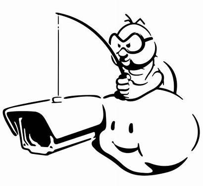 Lakitu Camera Cctv Stencil Security Mario Cloud