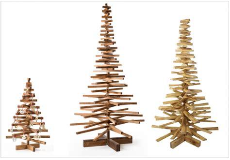 sapin noel original bois naturel accueil design et mobilier