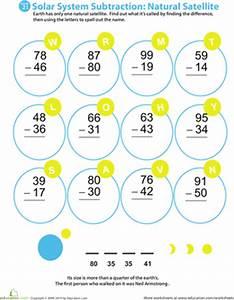 Solar System Subtraction: Natural Satellite | Subtraction ...