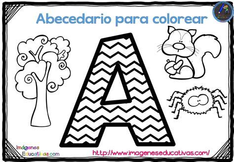 abecedario para colorear listo para descargar e imprimir zig zag 1 imagenes educativas