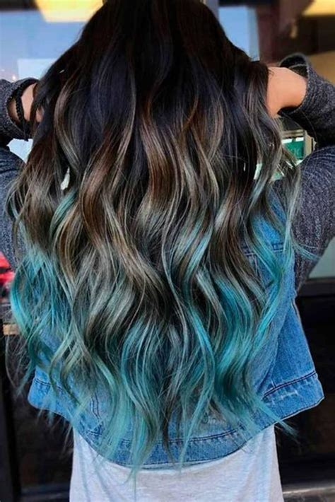 77 Amazing Teal Color Hairstyles To Love This Summer