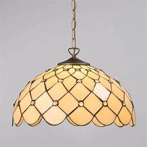 Tiffany jewel inch ceiling pendant with shade honey