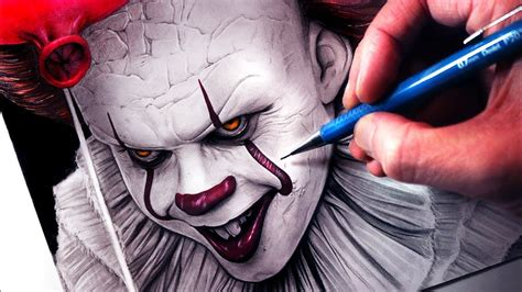 Let's Draw Pennywise From Stephen King's
