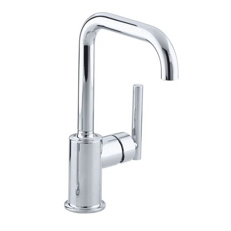 restaurant kitchen faucet kohler k 7509 purist single handle bar faucet secondary