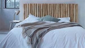 Tete De Lit Bois Flotté : comment faire une tete de lit originale 2 tete de lit en bois flotte ambiance bord de mer de ~ Teatrodelosmanantiales.com Idées de Décoration