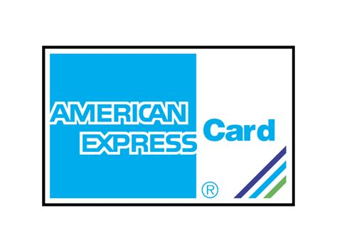 American Express Card Logo Svg Vector & Png Transparent