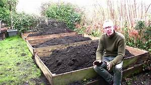 february on peter39s plot the easiest way to build raised With best way to make raised vegetable garden beds