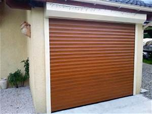 porte de garage enroulable sur mesure solabaie With porte de garage enroulable de plus porte en bois