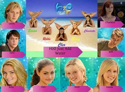 H2o Water Mermaids Rikki Shows Emma Cleo